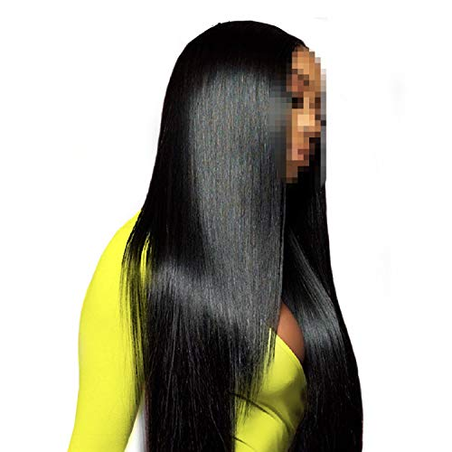 Straight Lace Front Wig With Pre Plucked Hairline