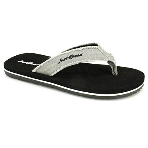 Ultimate Thong Flip Flop (Just Speed Men's Sandals – Flip Flops, Plus Sizes 13, 14, 15, Cushion Footbed & Flexible Outsole (Black-14))