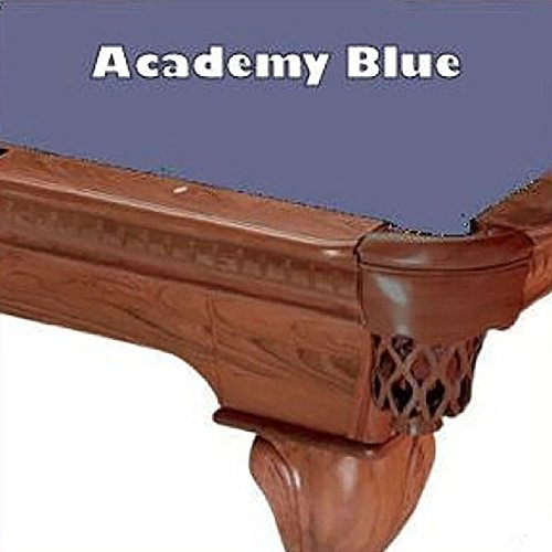 10' Academy Blue ProLine Classic 303 Billiard Pool Table Cloth (Classic Billiard Table)