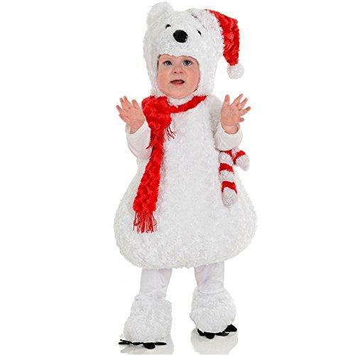 Christmas Polar Bear Toddler Costume - Large]()