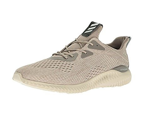 premium selection ce1a9 bcf66 adidas Mens Alphabounce EM M Running Shoe, Tech Earth, Clear Brown,  Crystal White