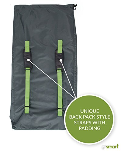 Gosmart Xl Stroller Travel Bag New Design For Double Strollers Jogging Stroller And Travel