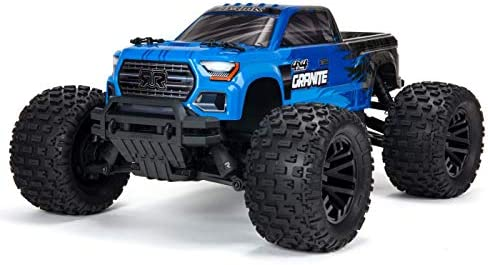 ARRMA ARA4202V3IT1 Granite 4X4 MEGA 550 Monster Truck RTR Blue Radio Controlled Car