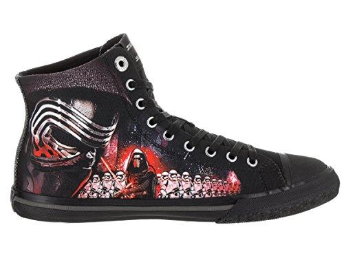 Skechers Heren Legacy Vulc - Galactic Ruler Casual Schoenen Zwart / Rood