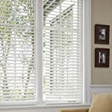 "Better Homes and Gardens 2"" Faux Wood Blinds, White, 29 X 64"