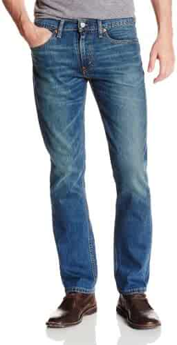 Levi's Men's 511 Slim Fit Jean, Throttle - Stretch, 35W x 30L