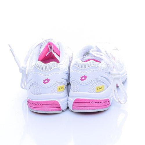 Lotto Damen Laufschuhe Vienna Weiß mit Pink Größe 37