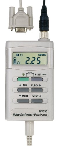 Extech 407355 Noise Dosimeter/Datalogger with PC Interface by Extech