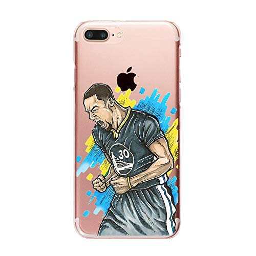 1 piece Fashion Popular Cool nba player Jordan Kobe James Dunk pattern for iphone x case Silicone Soft tpu Transparent Phone back cover