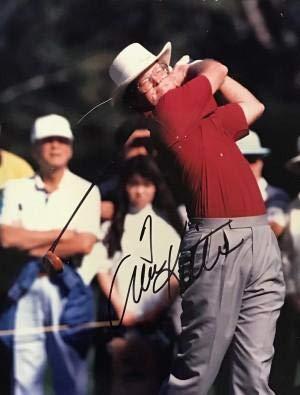Autographed Tom Kite Photograph - Black & White 8x10 - Autographed Golf Photos ()