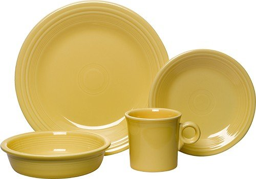 yellow dishes - 3