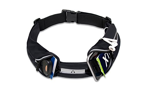 Hands-Free Waist Pack for Runners. Water-Resistant, best for jogging, cycling and hiking. Galaxy, iPhone 6 7 8 X Plus holder. Reflective, Waterproof, Non-bounce Workout & Running Belt. Great gift!