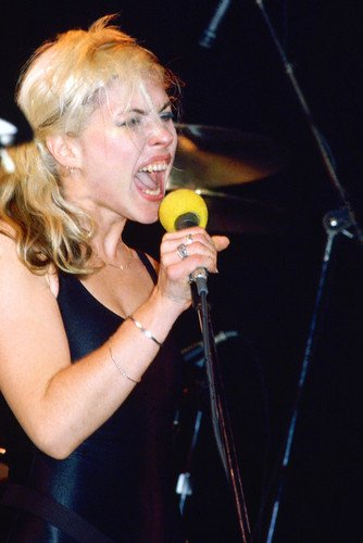 Deborah Harry Blondie in Concert on Stage 24x36 Poster