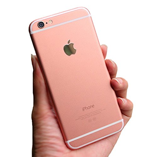 ToeoeAR Rose Gold IPhone 6S Color Sticker Full Body Protector Skin For 6 47 Make Your Looks Like High Strength And