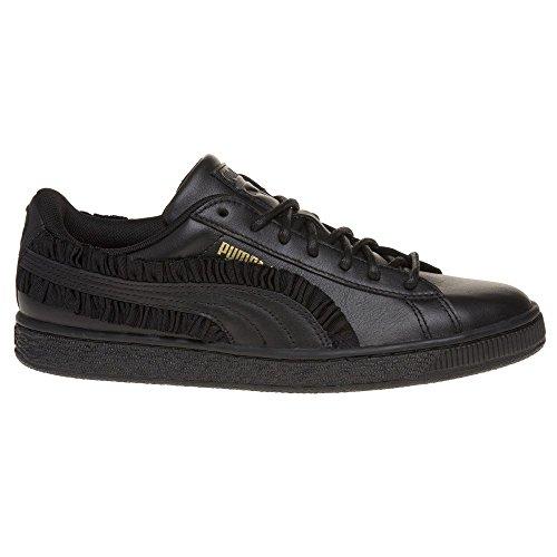 Donna Sneaker Puma Classic Frill Basket Nero wqqB7US