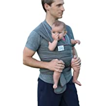 Haul'A Baby 4-in-1 - Baby Wrap - Ring Sling - Maternity Belt & Belly Binder (Grey)