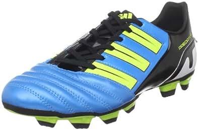 adidas Men's Predator Absolado Trx Fg Soccer Cleat,Predator Sharp Blue Metallic/Electricity/Black,12.5 D US