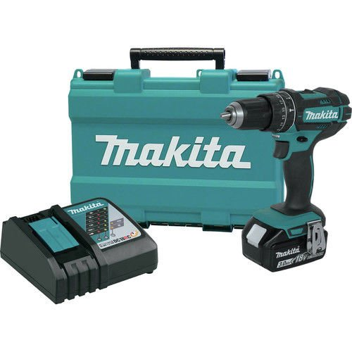 Makita XPH102-R 18V LXT Lithium-Ion Cordless 1/2 in. Hammer Driver-Drill Kit (Certified Refurbished)