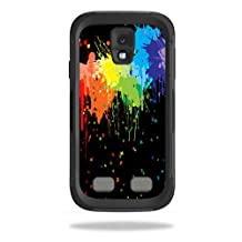 Mightyskins Protective Vinyl Skin Decal Cover for OtterBox Preserver Samsung Galaxy S4 Case wrap sticker skins Splatter