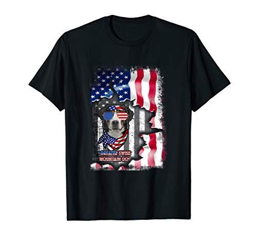 Greater Swiss Mountain Dog Shirts Fun American Flag Gifts