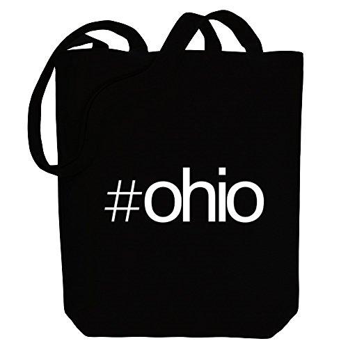Idakoos Hashtag Ohio - US Staaten - Bereich für Taschen