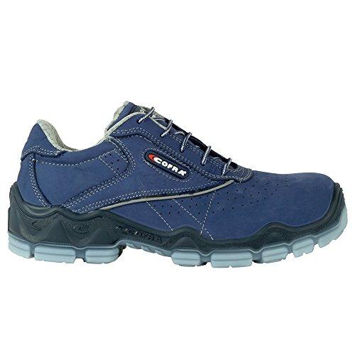 Cofra 20020-002.W41 Giotto S3 Chaussures de sécurité SRC Taille 41 Bleu
