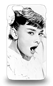 Iphone Anti Scratch 3D PC Soft Case Cover Protective Audrey Hepburn English Female Roman Holiday My Fair Lady Breakfast At Tiffany S 3D PC Soft Case For Iphone 6 ( Custom Picture iPhone 6, iPhone 6 PLUS, iPhone 5, iPhone 5S, iPhone 5C, iPhone 4, iPhone 4S,Galaxy S6,Galaxy S5,Galaxy S4,Galaxy S3,Note 3,iPad Mini-Mini 2,iPad Air )