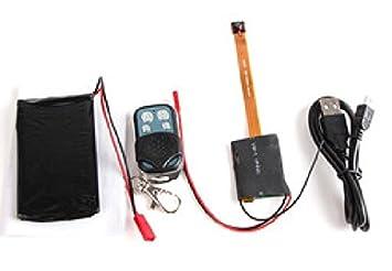 Agente007 - Modulo Camara Espia Dvr Para Ocultar Full Hd 1080P Bateria 3500Mah Deteccion De Movimiento: Amazon.es: Electrónica