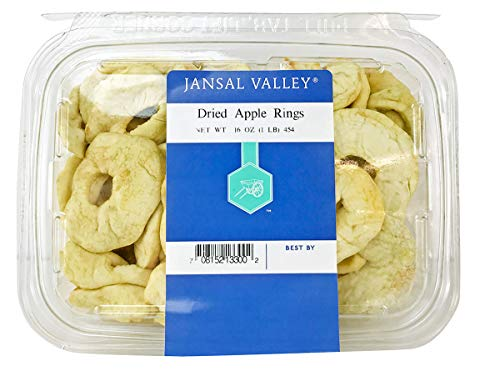 (Jansal Valley Dried Apple Rings, 1 Pound)