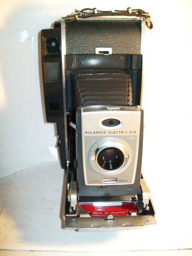 Vintage Polaroid 900 Electric Eye Folding Land Camera