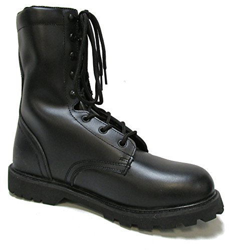 Miltiary Uniform Supply Military Uniform Supply Speedlace Leather Combat Boots - 10 Regular (Speedlace Black Leather Combat Boots)