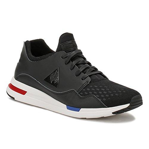 Le Coq Sportif Hombres Negro LCS R Pure Zapatillas