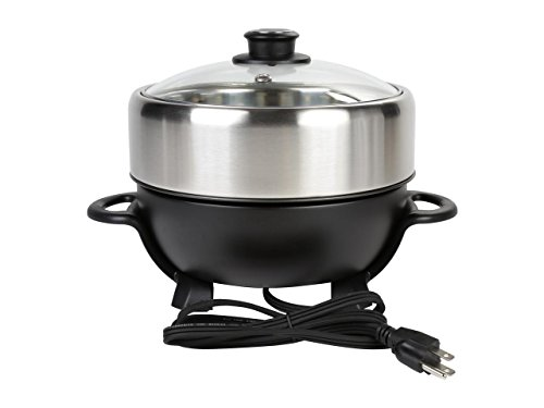 TRMC-40 Shabu and Grill Multi-Cooker, 4 quart, Black by TAYAMA (Image #3)