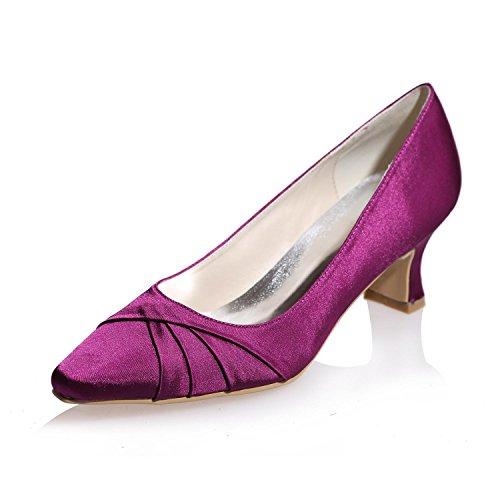 More yc Su Party Colore Tacchi Cerimonia 0723 Night Alti Del Purple 08 Donne Di L Suggerimenti Seta Nuziale Disponibile Delle amp; Misura SZRqdx7Tx