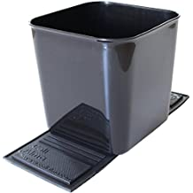 Auto Car Vehicle Garbage Can Trash Bin Waste Container Quality Plastic EXTRA LARGE 1 Gallon 4 Liter, Quality For Life!
