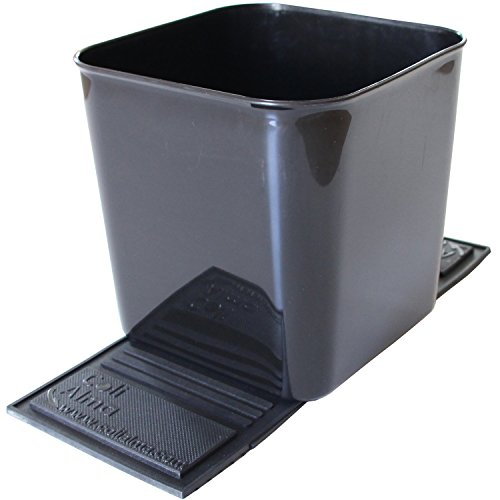 Auto Car Vehicle Garbage Can Trash Bin Waste Container Quality Plastic EXTRA LARGE 1 Gallon 4 Liter, Quality For Life