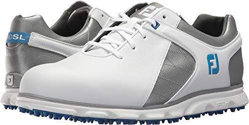 SL Blue Grey Spikeless FootJoy Toe Plain Pro Mens Rover Light Trim Whte OvTqHExwxR