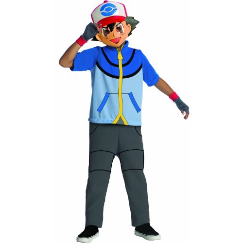 Pokemon Child's Ash Costume XL (14-16)