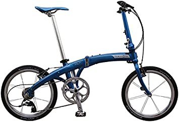 Dahon Mu Ex-Bicicleta Plegable 10 V, Color Azul: Amazon.es ...
