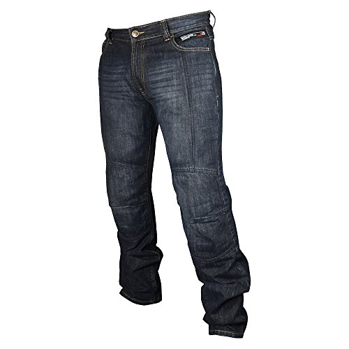 Oxford Men's SP-J3 Kevlar Jeans (Blue, 36'' x 31'') by Oxford