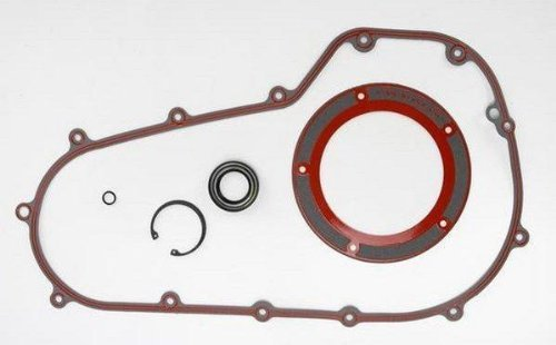 y Gasket Kit Cover Paper with Bead for Harley Davidson 2007 - One Size (Primary Gasket Kit)
