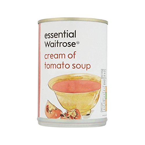 Cream of Tomato Soup essential Waitrose 400g - Pack of 6