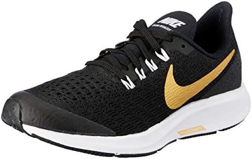 sale retailer 63bc5 33e1a Nike Australia Girls Air Zoom Pegasus 35 SH GS Fashion Shoes,  Black/Metallic Gold-White