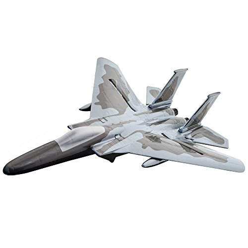HoverWay RC Sonic Explorer Jet with Landing Gear - Grey