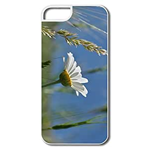 IPhone 5/5S Cases, Summer Daisy White Case For IPhone 5 5S
