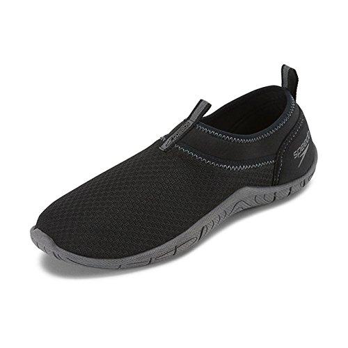 Speedo Männer Gezeiten Cruiser Wasser Schuhe Schwarz / Dunkelgrau