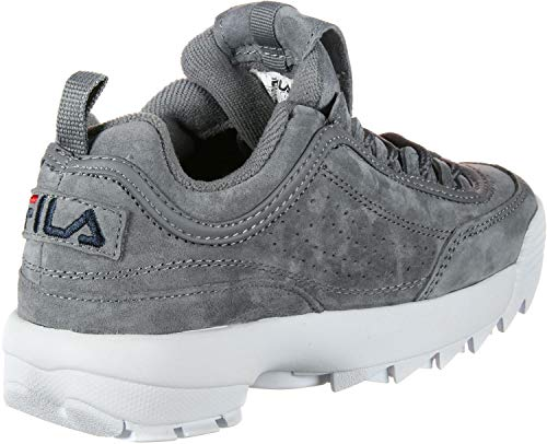 Low Grau Fila Monument Disruptor S Turnschuhe 10104366QW Grey rg0nEv01pc