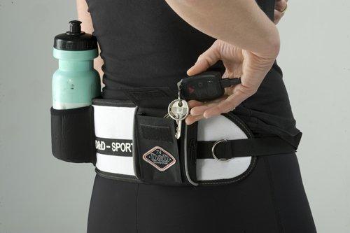 D&D Sports Active Walker for Big Dogs Reflective, 70-110cm, Black Neoprene