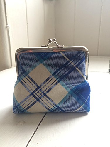 Scottish tartan coin purse 4' frame