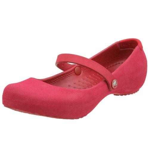 Crocs - Alice Suede Damenschuhe Ruby
